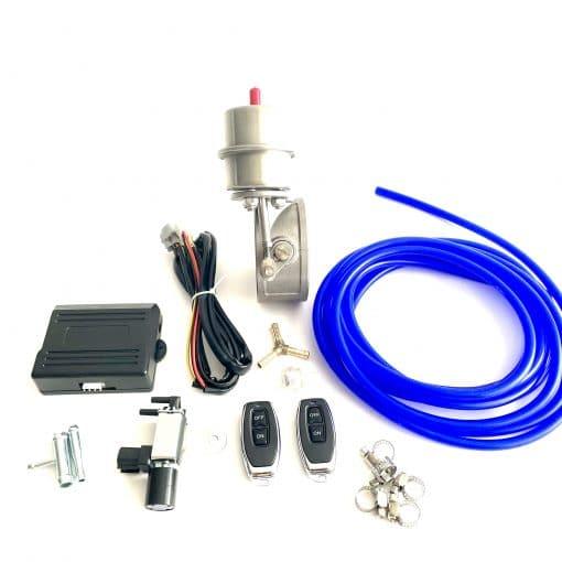 vacuumklep rvs met besturing
